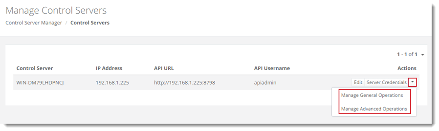 What is API Admin and what purpose does it serve in Hosting