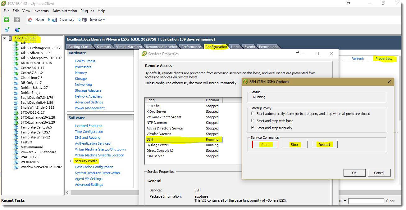 How to fetch Public Key Fingerprint for configuring VMware role in